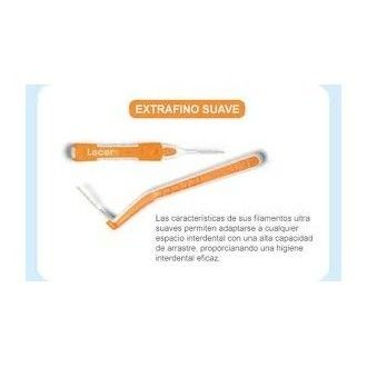 Cepillo interdental lacer extrafino angular 6 unid