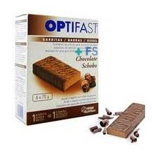Optifast barritas chocolate 6 unid