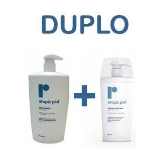 Atopic piel gel de baño 750 ml + Locion corporal 500 ml