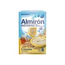 Almiron advance 8 cereales con miel 600 g