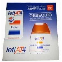 Leti AT4 facial 50ml+regalo gel de baño dermograso 100ml