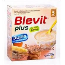 Blevit plus 8 cereales y galleta 600 gr