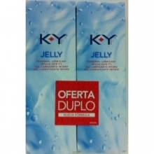 KY gel lubricante vaginal duplo 2x75ml