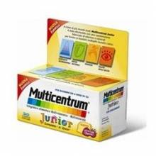 Multicentrum junior 30 comprimidos masticanles
