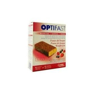 Optifast barritas frutas del bosque 6 unid