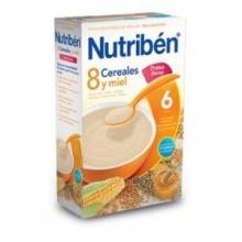 Nutriben 8 cereales y miel frutos secos 600g