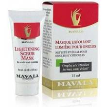 Mavala mascarilla exfoliante luminosidad par uñas 15 ml