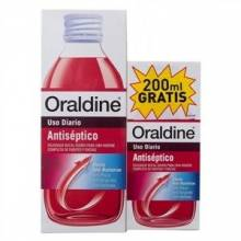 Oraldine antiseptico colutorio 400 ml + regalo 200 ml