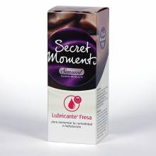 Secret moments gel lubricante de fresa 50 ml