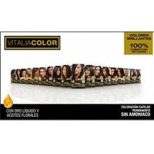 Th pharma vital sin amoniaco coloracion capilar permanente color 6.65 rubio oscuro rojo caoba