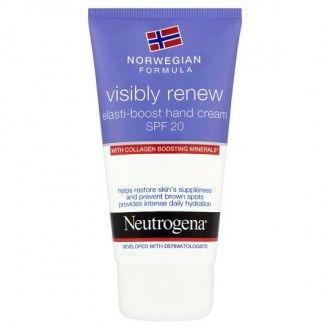 Neutrogena visibly renew spf20 crema de manos 75 ml