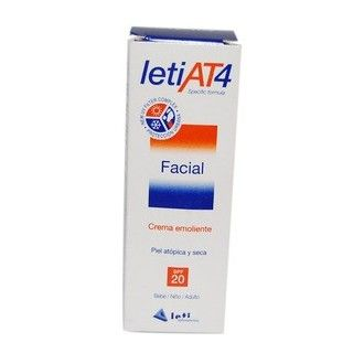 Leti at-4 crema facial spf20 50 ml