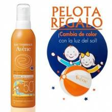 Avene spray infantil spf 50 200 ml+ regalo juguete niño