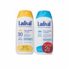 Lavidal allerg fotoprotector fps 30 gel-crema + aftersun 200ml