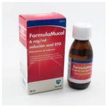 FORMULAMUCOL EFG 30 MG/5 ML SOLUCION ORAL 100 ML
