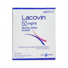 LACOVIN minoxidil 50 MG/ML SOLUCION CUTANEA 1 FRASCO 60 ML