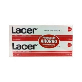 Lacer pasta dental 125 ml + 125 ml