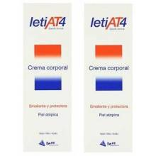 Leti at4 duplo crema corporal 200 ml + 200 ml