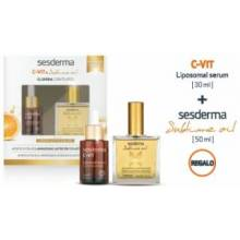 Sesderma C-vit Serum Reactivador 30 ml + aceite sublime 50 ml
