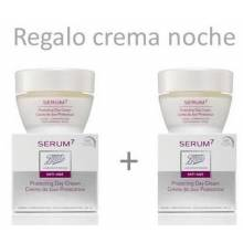 Serum7 renew crema de dia piel normal y mixta spf15 50 ml+ Crema regeneradora de noche 50 ml