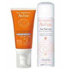 Avene solar emulsion spf 50 50 ml + regalo agua termal