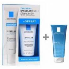 Effaclar duo corrector 40 ml+effaclar gel limpiador 200 ml+ effaclar mousse limpiador 50 ml