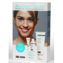 Acniben pack emulsion RX 40ml+ labial Rx 2 ml + limpiador acniben repair 15 ml