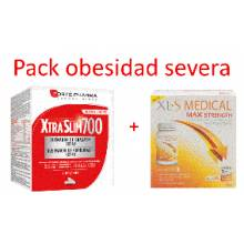 XTRA SLIM 700 120 comprimidos + XLS MEDICAL MAX STRENGTH 120 comprimidos