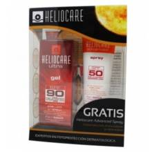 Heliocare ultra gel spf 90 50 ml+ heliocare advanced spray spf50 75ml
