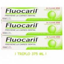 Fluocaril pasta dental TRIPLO 3 x 125 ml