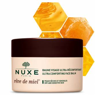 Nuxe reve de miel bálsamo facial ultra-reconfortante 50 ml