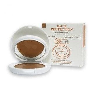 Avene compacto coloreado 50 dorado 10 g