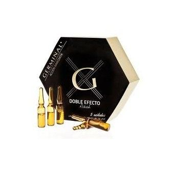 Germinal acción inmediata doble efecto flash 5 ampollas 1,5 ml + regalo collar