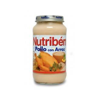 Nutriben pollo con arroz 250g