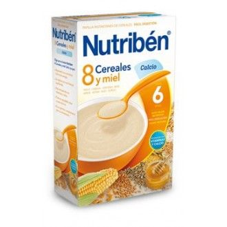 Nutriben 8 cereales y miel calcio 600 g