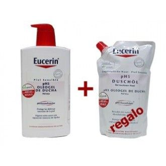 Eucerin ph5 oleogel de baño 1000 ml + regalo 400 ml